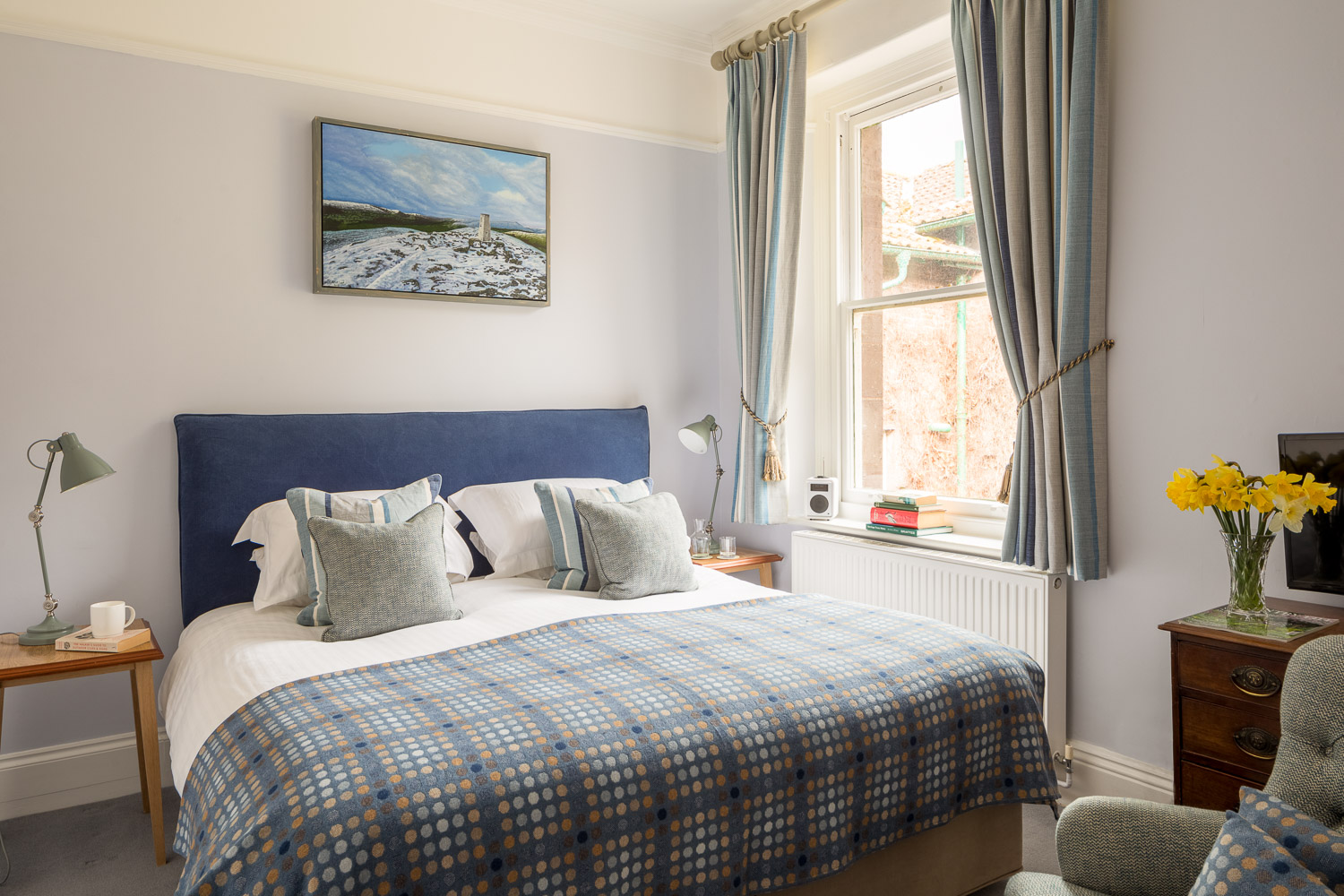 classic double bedroom luxury country house hotel wales