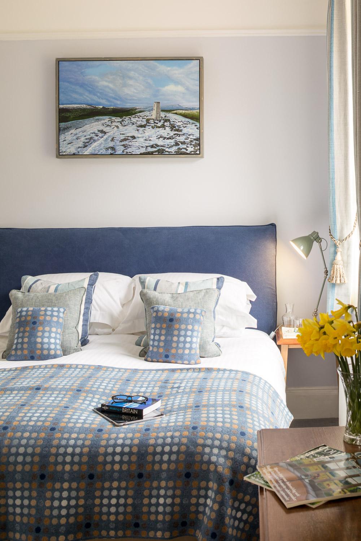 luxury country house hotel bedroom brecon beacons