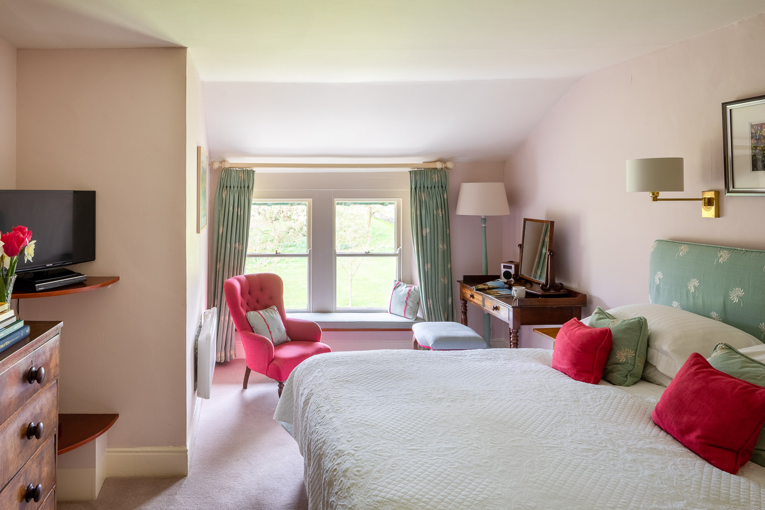 country house hotel bedroom luxury hotel wales