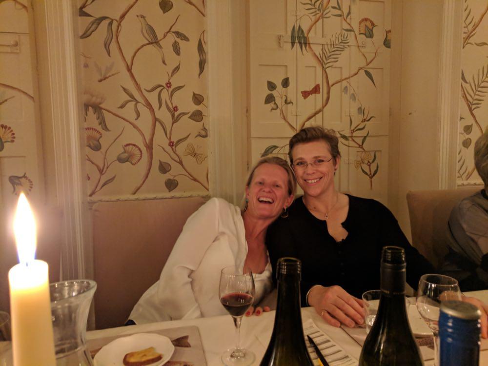 private dining in gliffaes hotel near brecon