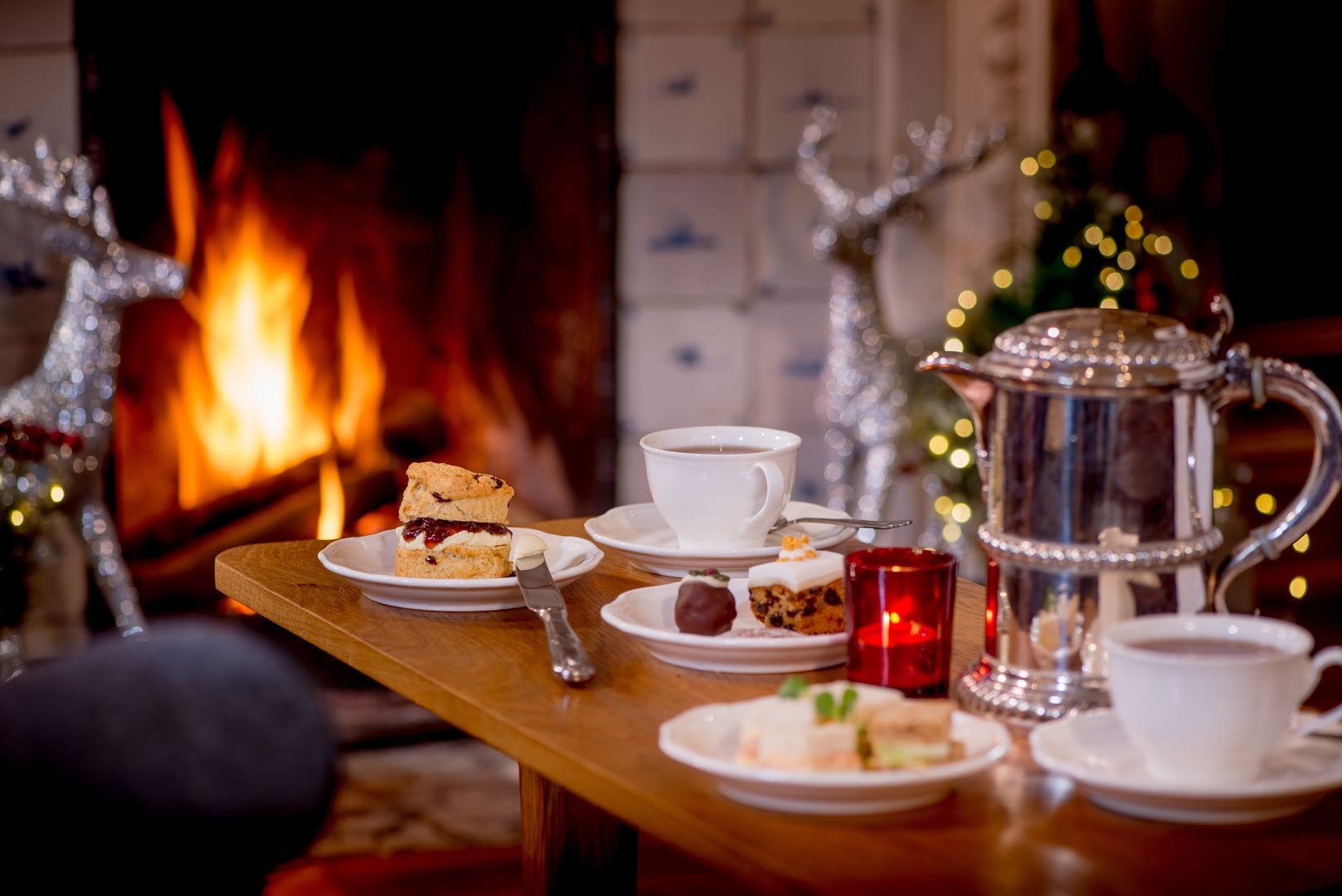christmas afternoon tea in wales