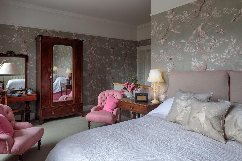 luxury hotel bedroom brecon beacons