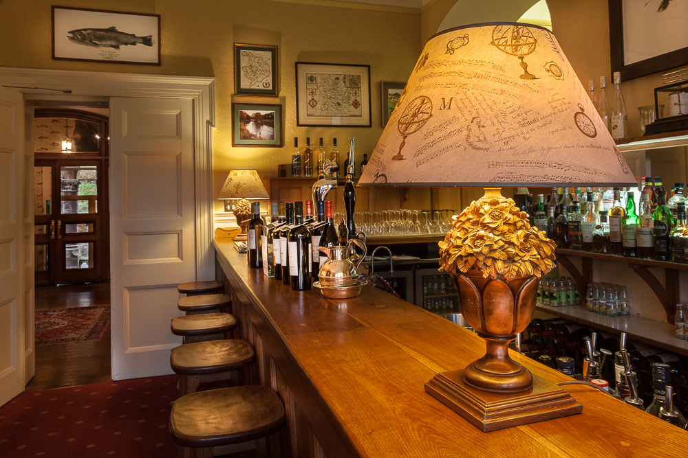 country house hotel near abergavenny bar