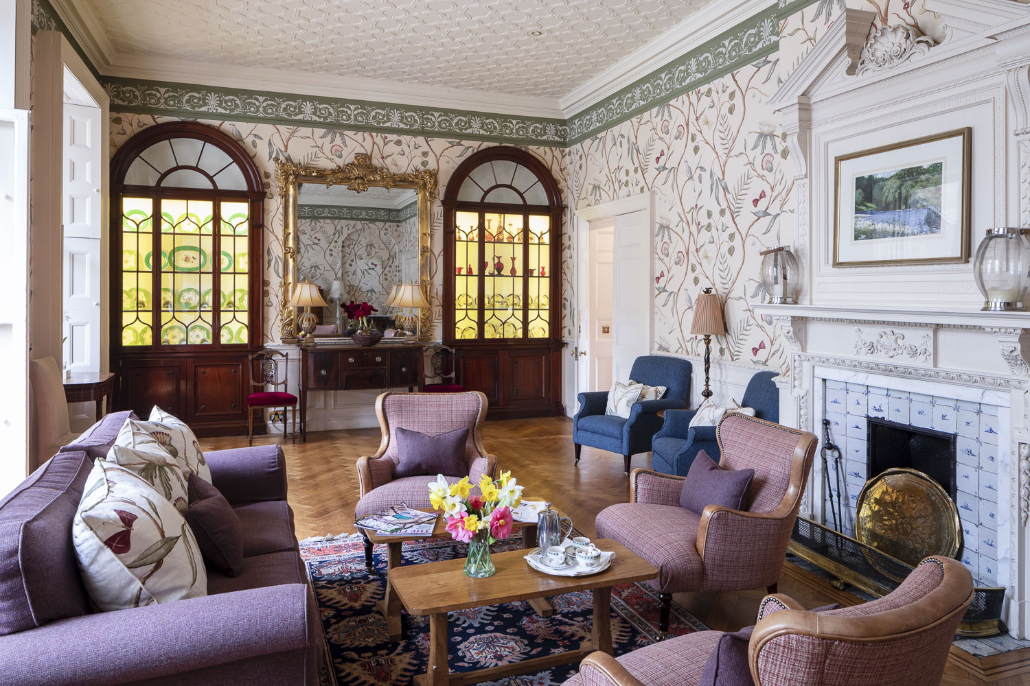 country house hotel drawing room south wales