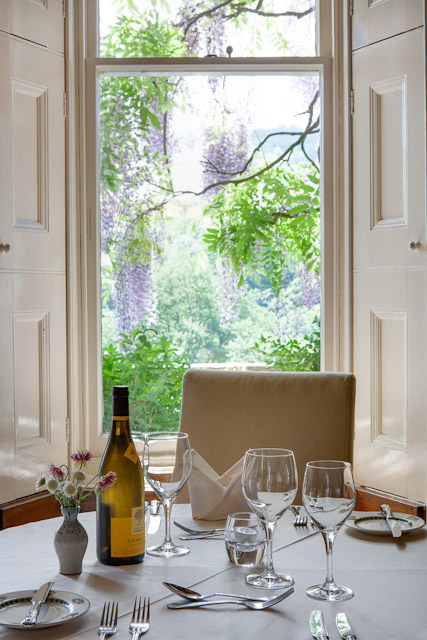country house hotel in wales restaurant