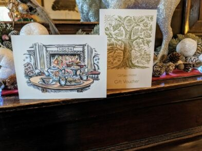 gliffaes country house hotel gift vouchers